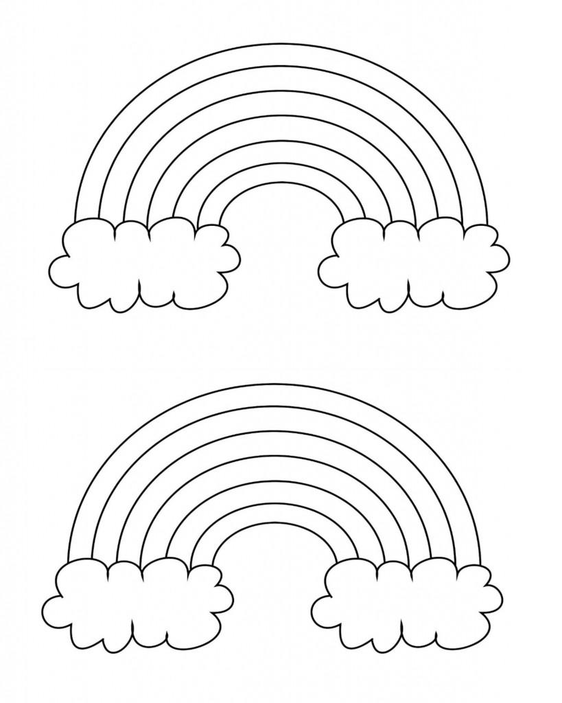 colouring sheet rainbow free printable rainbow coloring pages for kids sheet colouring rainbow