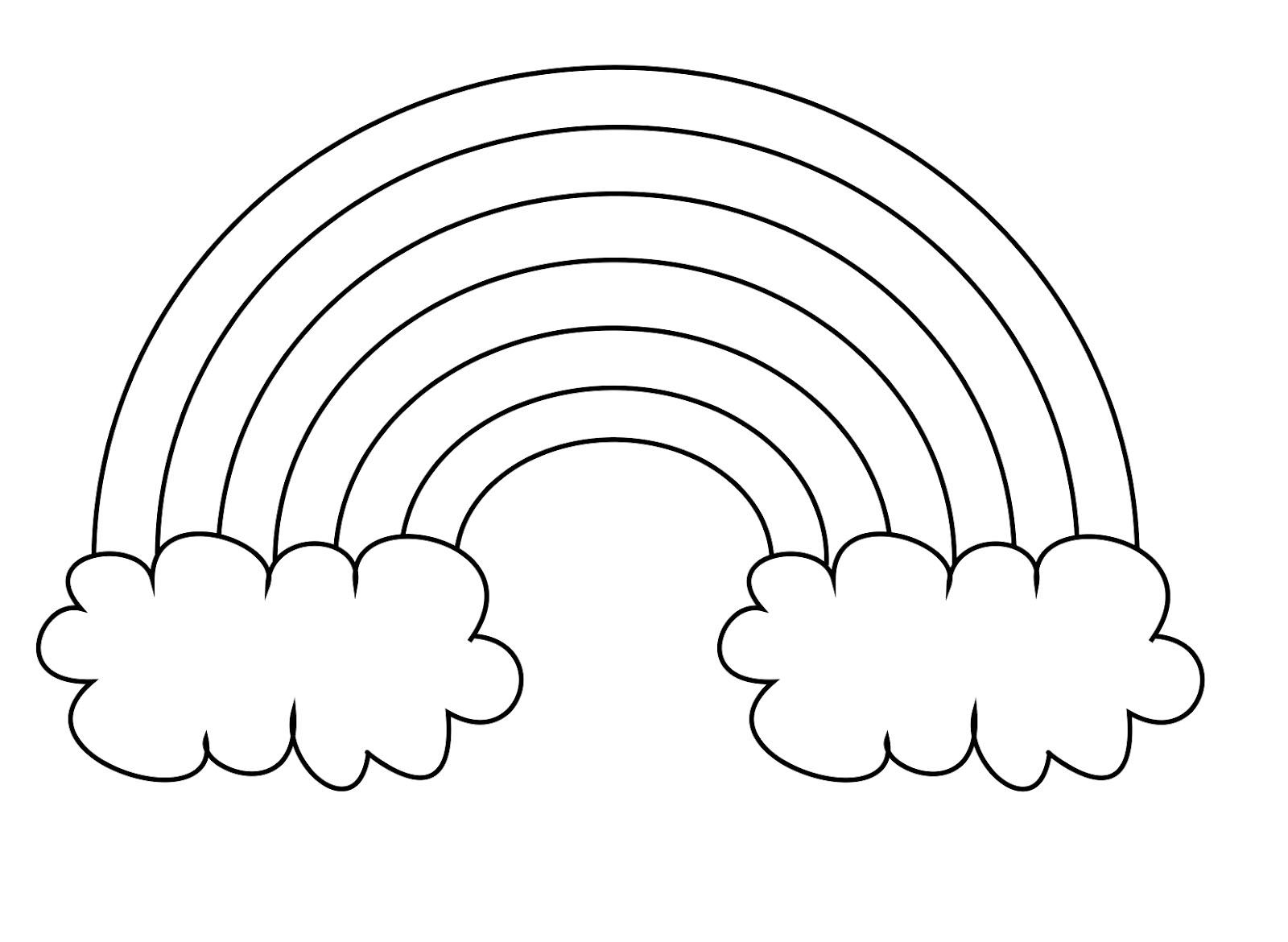 colouring sheet rainbow rainbow coloring pages free printables momjunction colouring rainbow sheet
