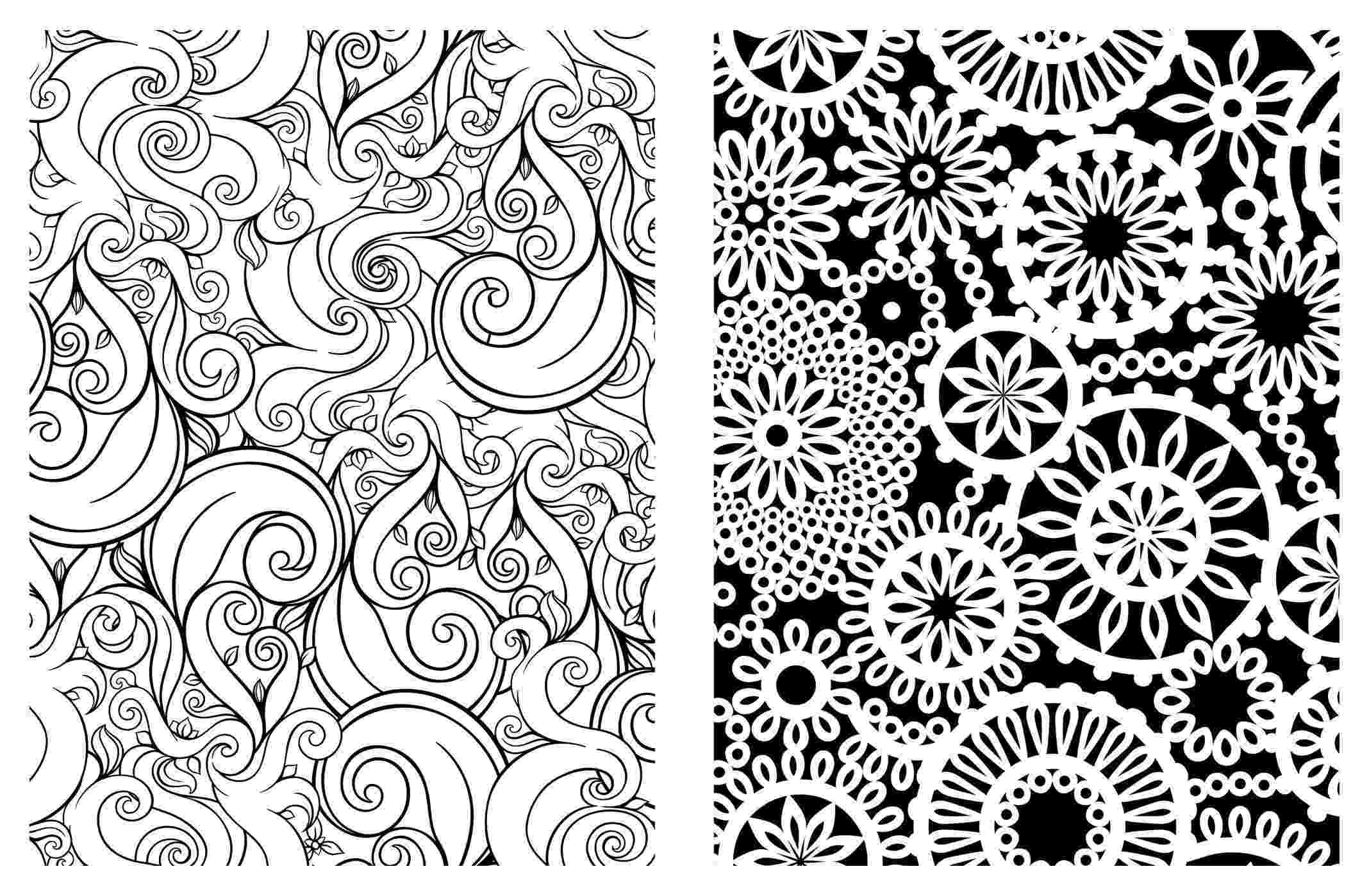 colouring therapy patterns adult coloring book art therapy volume 3 printable colouring therapy patterns