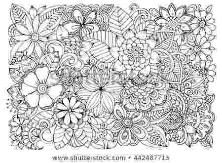 colouring therapy patterns emila39s portfolio on shutterstock patterns therapy colouring
