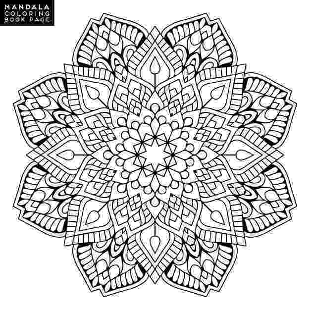 colouring therapy patterns outline mandala for coloring book decorative round colouring patterns therapy
