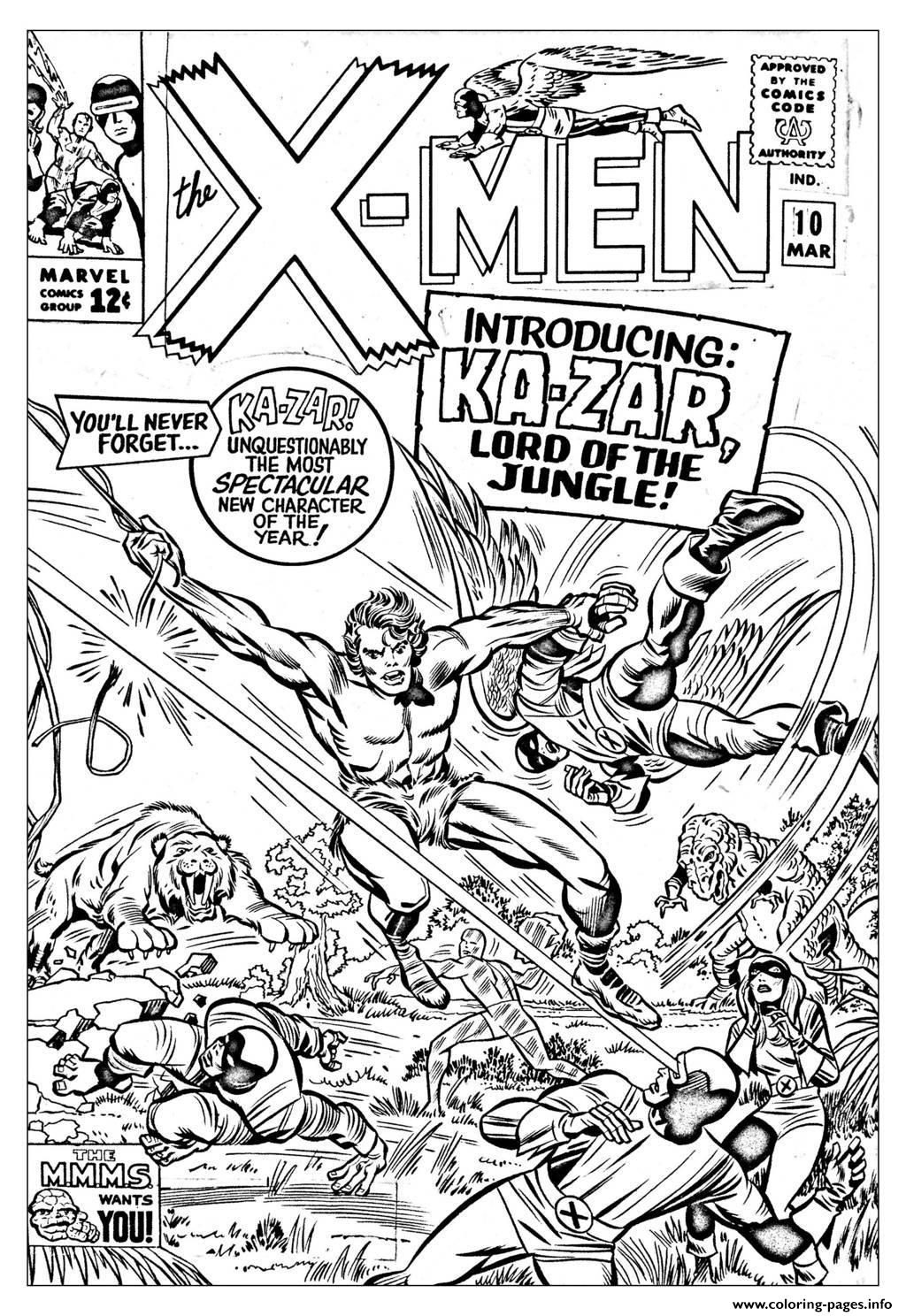 comic book coloring pages a new initiative scott kolins leaves marvel comics coloring book pages comic
