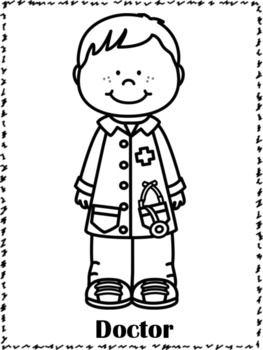 community helper coloring pages community helpers coloring pages by miss p39s prek pups tpt pages coloring community helper