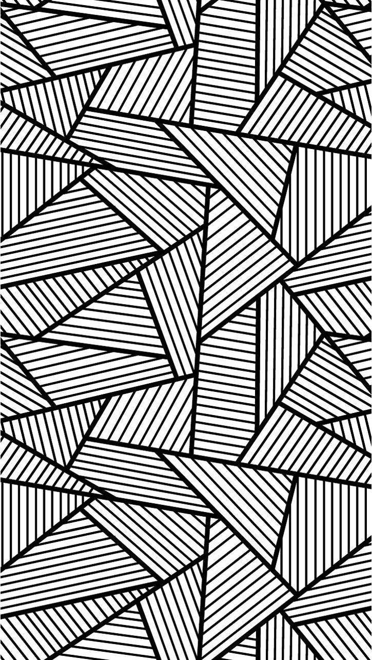 cool patterns to color free coloring page coloring adult triangles traits anti patterns to color cool