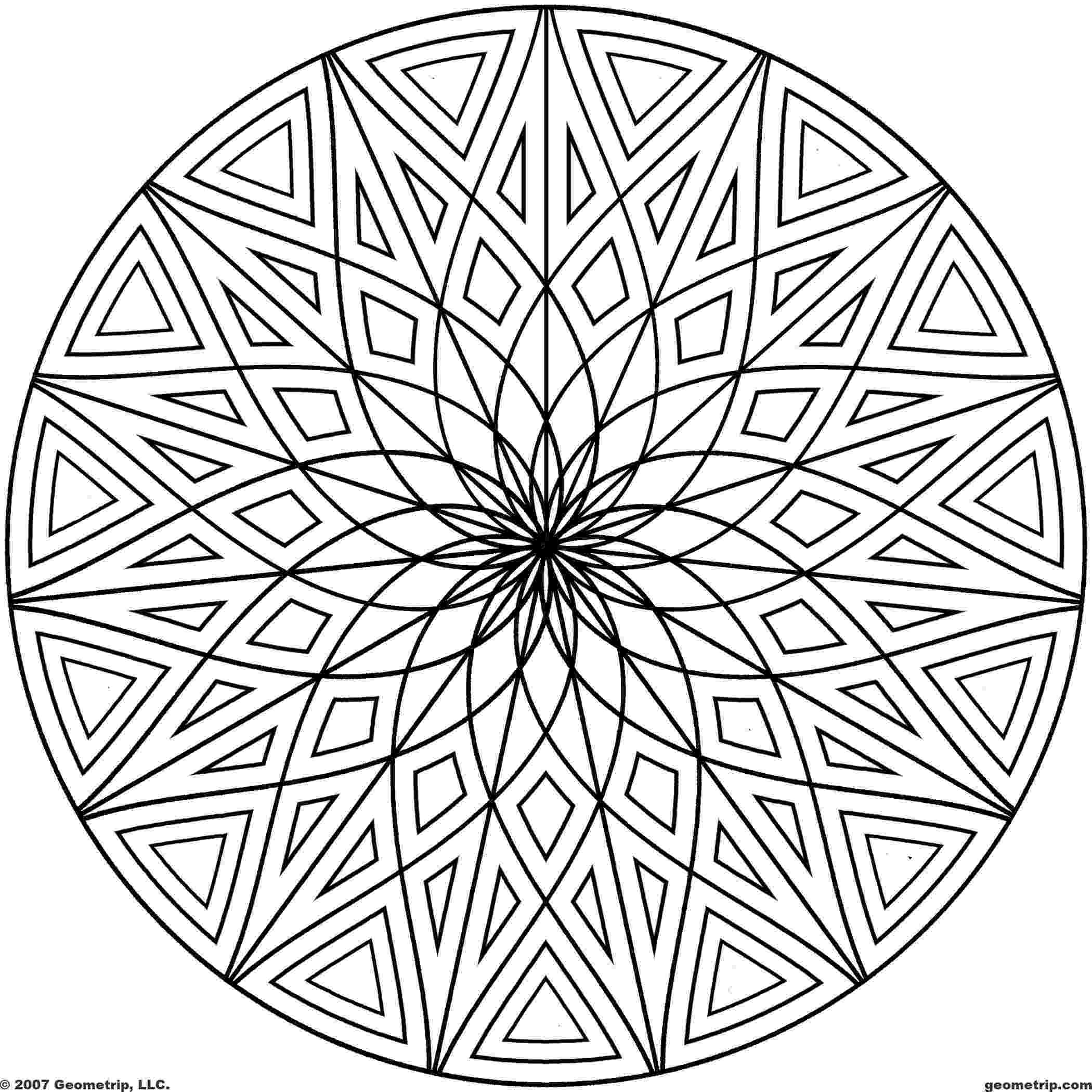 cool pictures to color and print 16 cool coloring pages of designs images cool geometric print cool and pictures to color