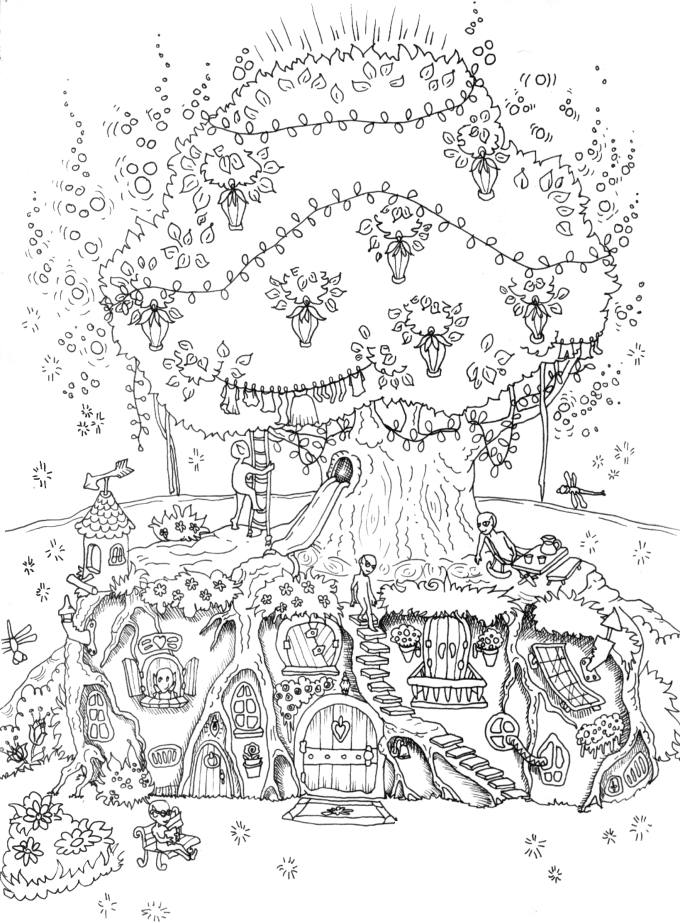 create a coloring page create an intricate adult coloring page by jovana023 coloring a create page