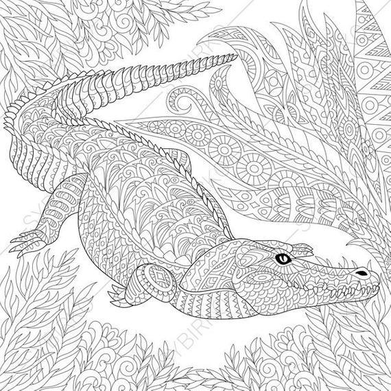 crocodile pictures to color crocodile coloring pages coloringpages1001com to pictures color crocodile