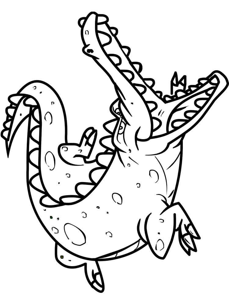 crocodile pictures to color indo pacific saltwater crocodile coloring page free pictures to color crocodile