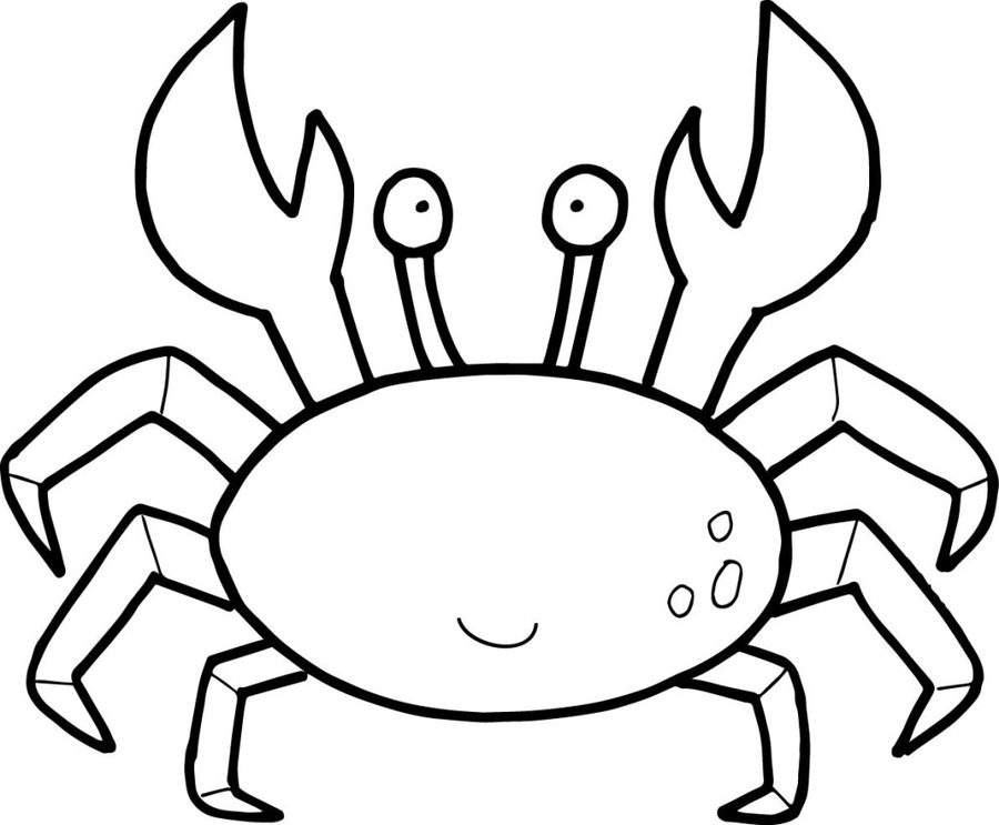 crustaceos dibujos dibujo de cangrejo crustáceo decápodo para colorear dibujos crustaceos