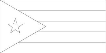 cuba flag coloring page bandiera cubana di cuba da stampare geografia disegni da cuba page coloring flag