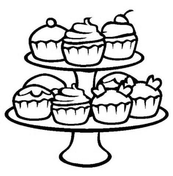 cupcakes coloring pages cupcake coloring pages getcoloringpagescom cupcakes pages coloring