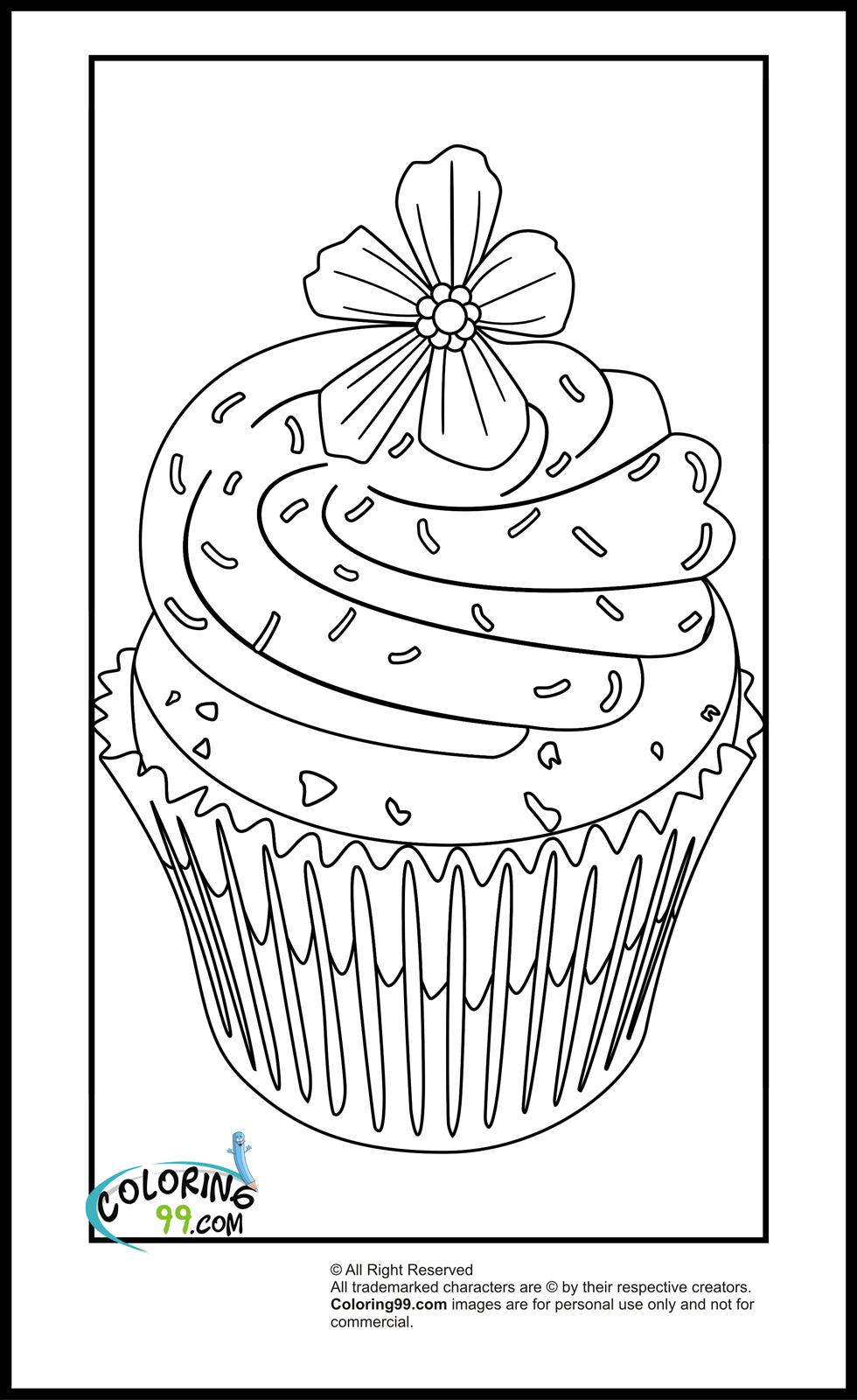 cupcakes coloring pages cupcake coloring pages minister coloring cupcakes coloring pages 1 1