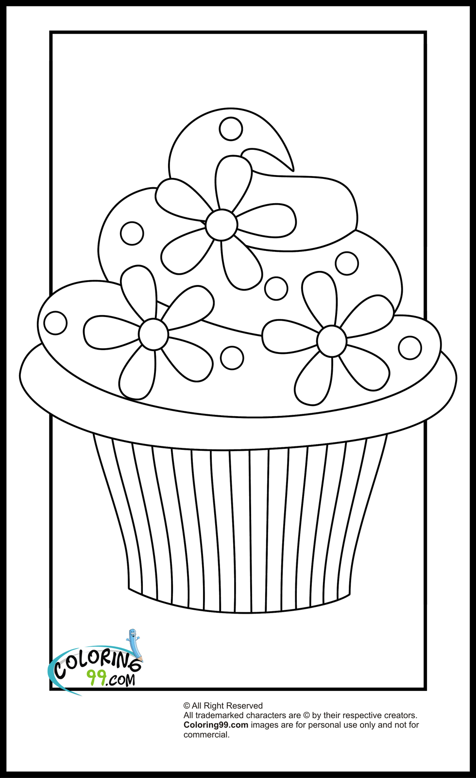 cupcakes coloring pages free printable cupcake coloring pages for kids cool2bkids cupcakes coloring pages