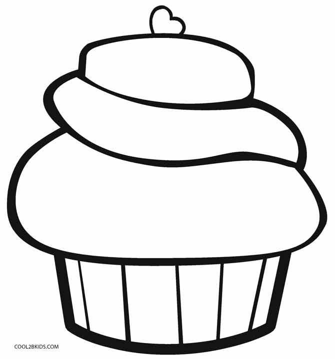 cupcakes coloring pages free printable cupcake coloring pages for kids cool2bkids cupcakes coloring pages 1 1