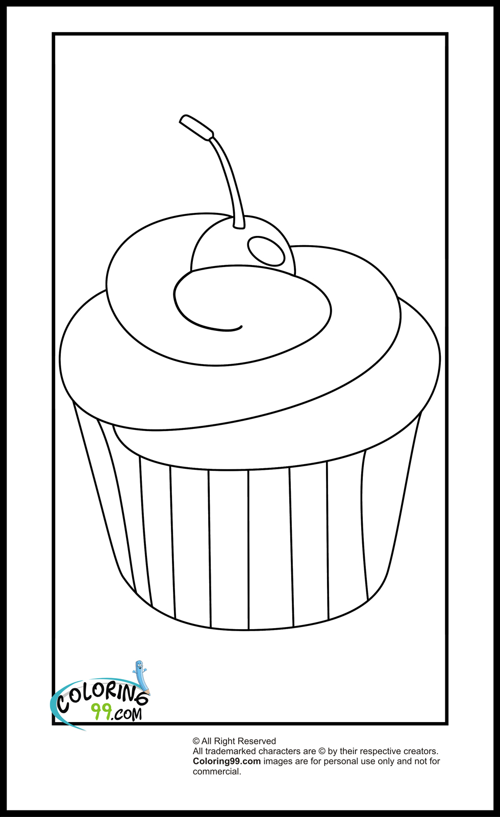 cupcakes coloring pages free printable cupcake coloring pages for kids cool2bkids pages coloring cupcakes