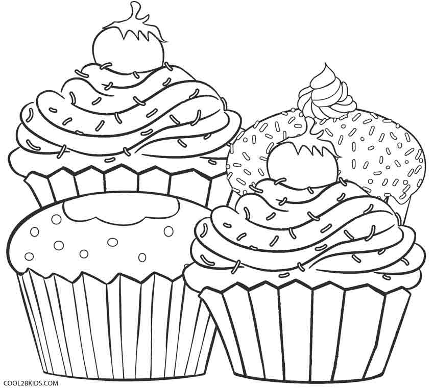 cupcakes coloring pages free printable cupcake coloring pages for kids cupcakes coloring pages