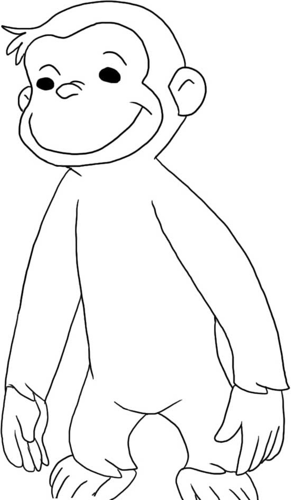 curious george coloring curious george coloring pages birthday printable curious coloring george