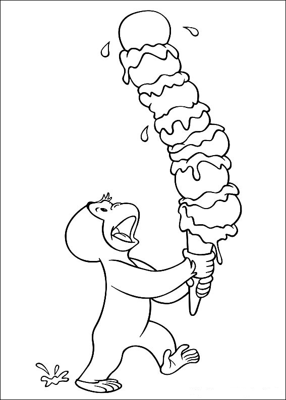 curious george coloring free curious george coloring pages for kids technosamrat george curious coloring