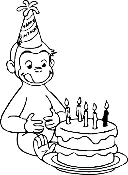 curious george coloring the curious george monkey coloring pages george curious coloring