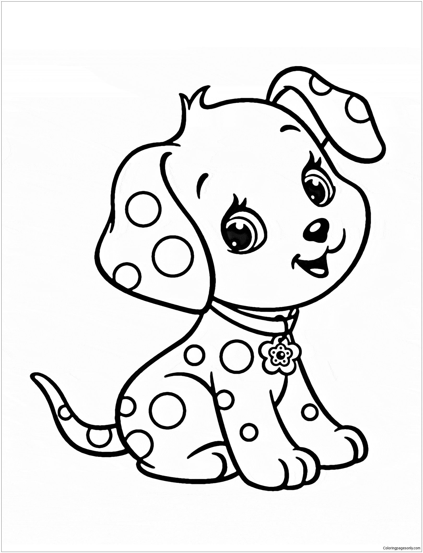 cute dog coloring pages best coloring page dog dogs and puppies coloring pagesfree cute coloring pages dog