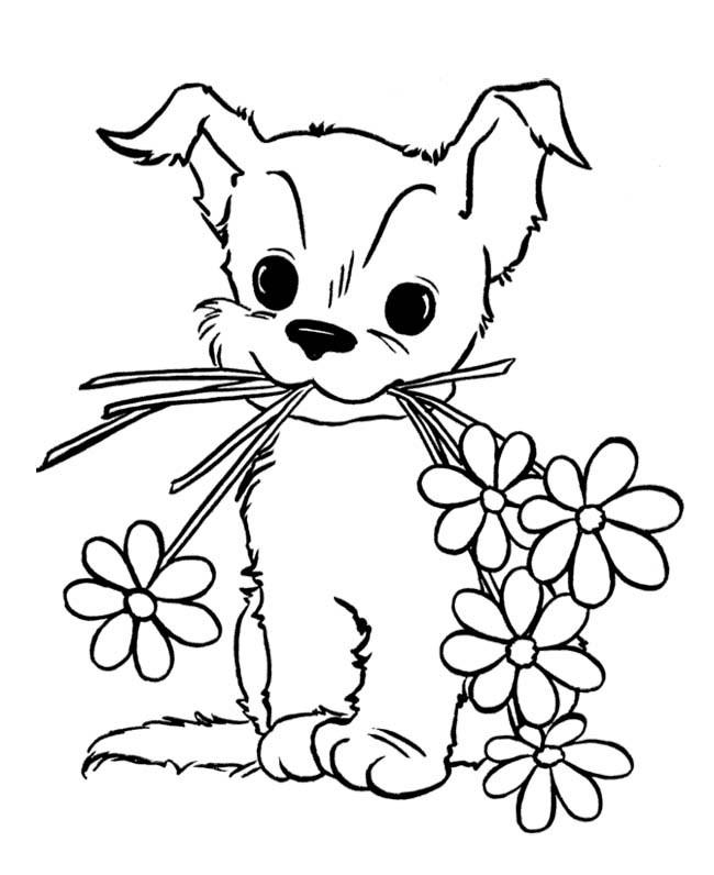 cute dog coloring pages cute dog coloring pages getcoloringpagescom dog cute coloring pages
