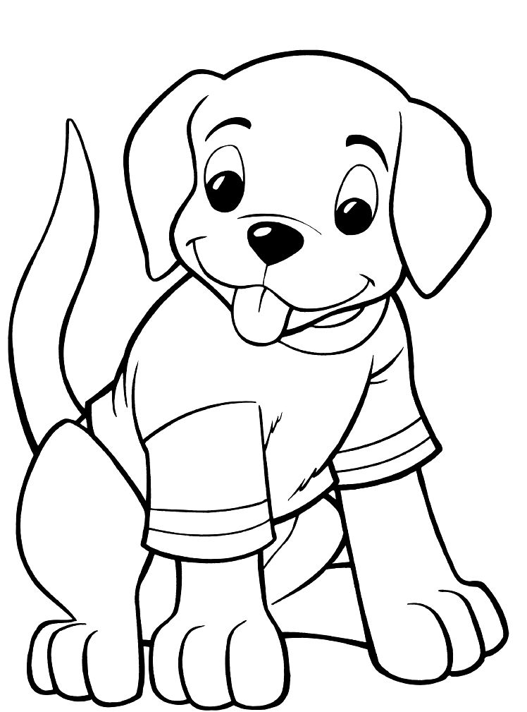 cute dog coloring pages free printable dog coloring pages for kids cute coloring dog pages