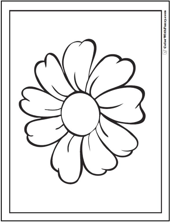 daisy flower colouring pages صفحات تلوين أزهار صفحة تلوين أقحوان flower pages daisy colouring