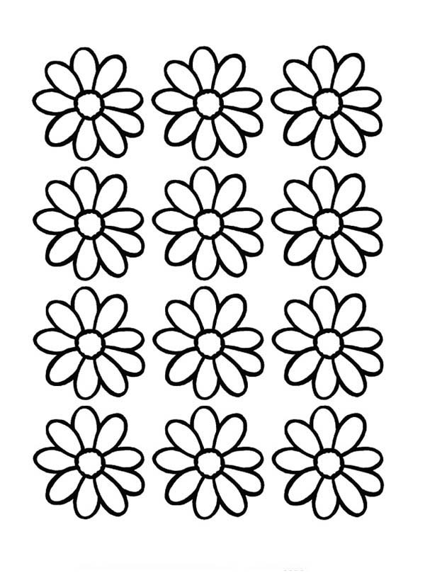 daisy flower colouring pages daisy flower arrangement coloring page download print pages daisy colouring flower