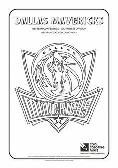 dallas mavericks coloring pages nba coloring pages color online free printable coloring mavericks pages dallas