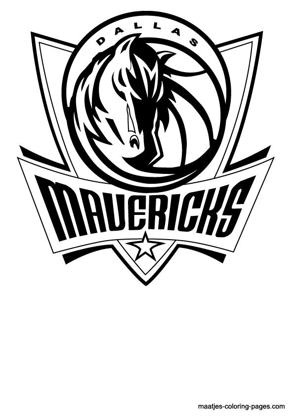 dallas mavericks coloring pages nba dallas mavericks logo coloring pages coloring dallas mavericks pages