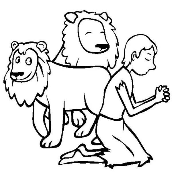 daniel coloring pages daniel and the lions den coloring page coloring pages coloring daniel pages