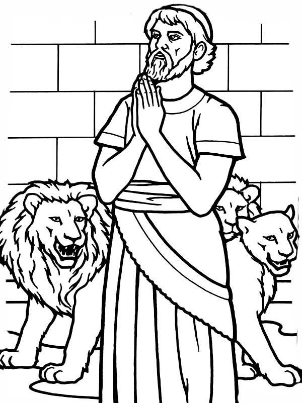 daniel coloring pages daniel in the lionsden free colouring pages daniel pages coloring