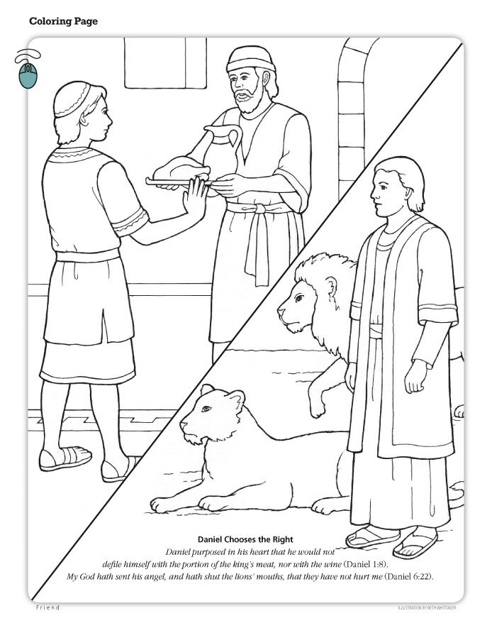 daniel coloring pages daniel obeys the lord friend coloring pages daniel