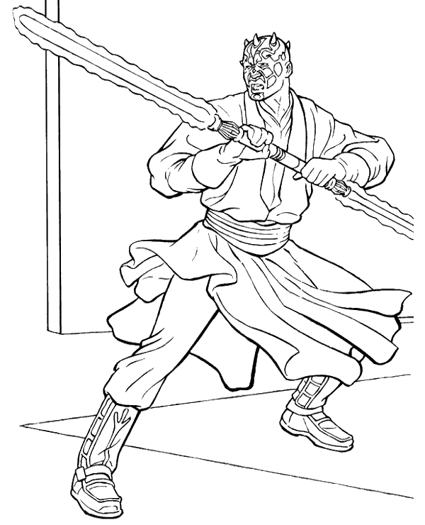 darth maul coloring pages high quality picture to color with darth maul to print for maul darth coloring pages