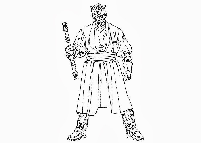 darth maul coloring pages star wars darth maul coloring pages free coloring pages coloring maul pages darth