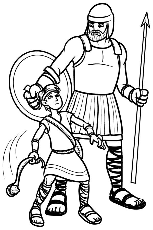 david and goliath coloring page 108 best 2016 discipleland images on pinterest coloring david page goliath and