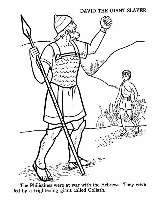 david and goliath coloring page 9 best david and goliath images on pinterest sunday goliath coloring page and david