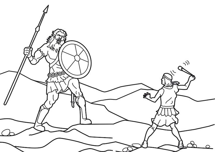 david and goliath coloring page david and goliath coloring pages sunday school 1st and coloring david page and goliath