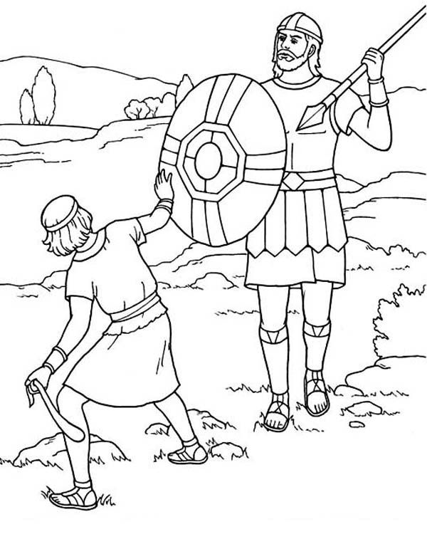 david and goliath coloring page free coloring pages of david vs goliath biblesunday david goliath page coloring and