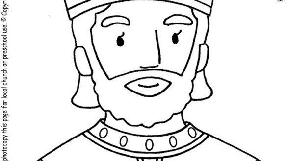 david becomes king coloring page david brings the ark all sundayschoolist david king page coloring becomes
