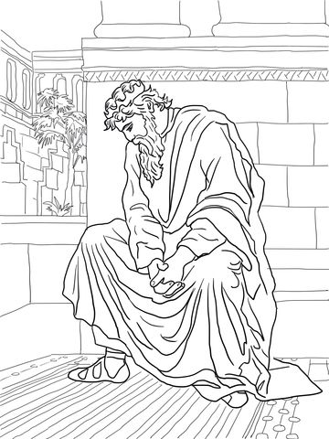 david becomes king coloring page david weeping over the death of absalom coloring page from david king page coloring becomes