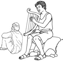 david becomes king coloring page king saul coloring sheet coloring becomes david page king