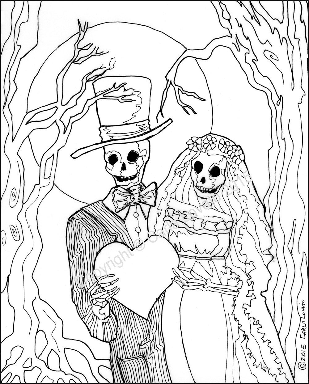 day of the dead pictures to color coloring pages skeleton wedding color page day of the dead of pictures the day dead color to