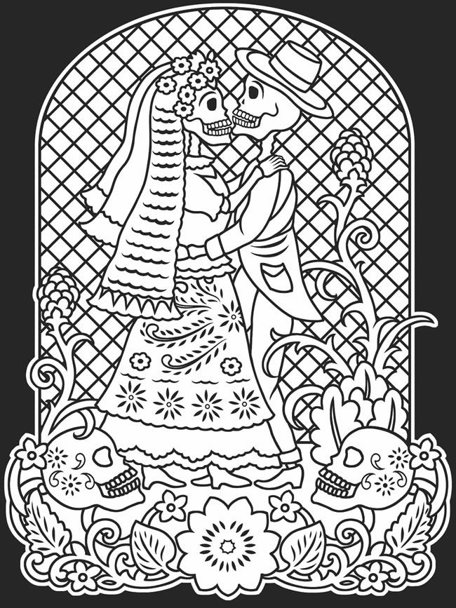 day of the dead pictures to color free printable day of the dead coloring pages best the to day of dead pictures color