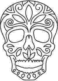 day of the dead template day of the dead skull templates pinterest dead the template of day