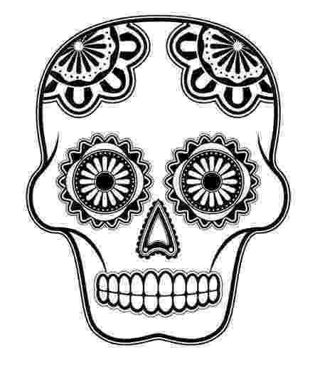 day of the dead template day of the dead sugar skull coloring page free printable template the of dead day