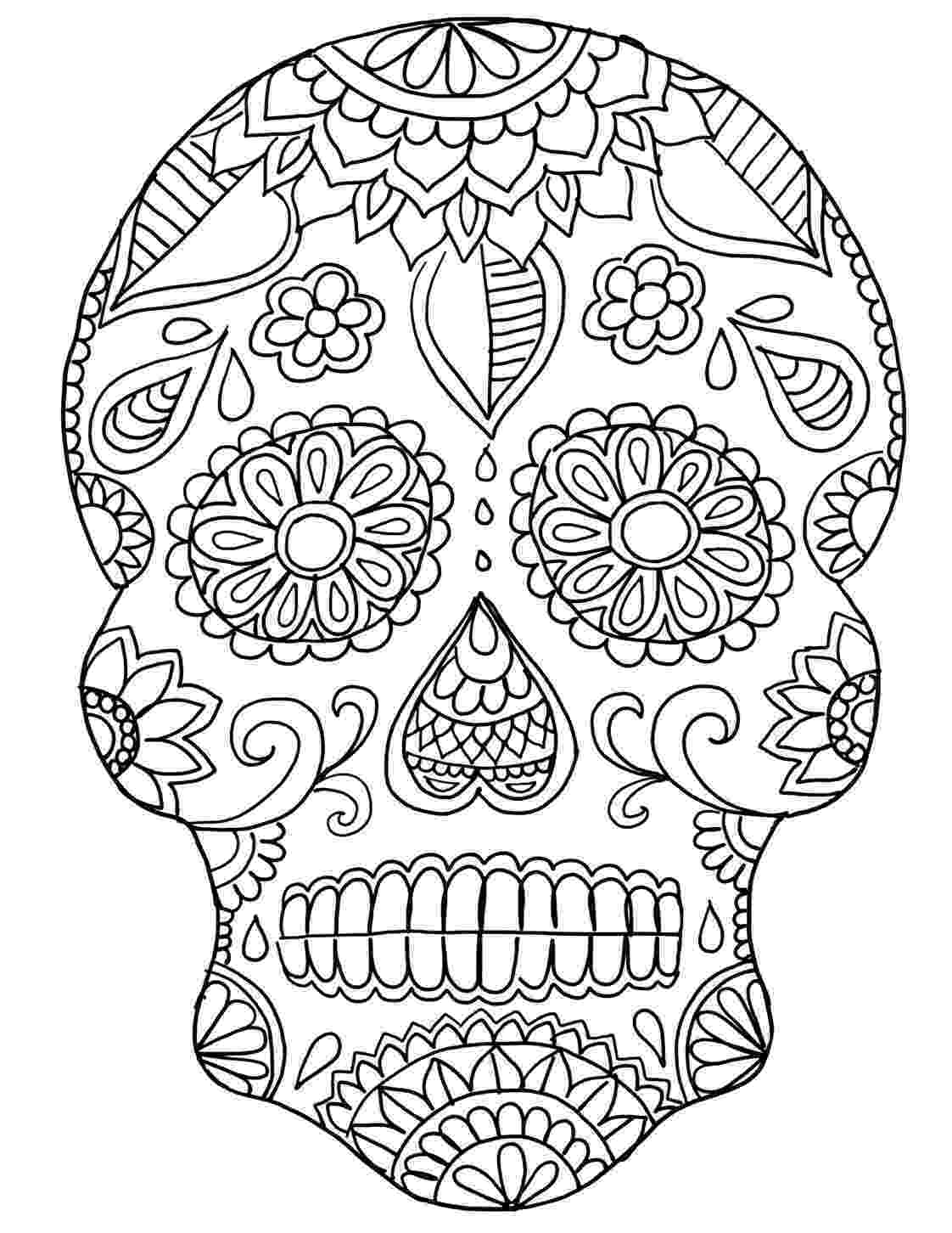 day of the dead template diy sugar skull crafts for dia de los muertos ooly day of the dead template