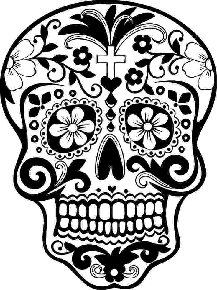 day of the dead template skull pictures art clipartsco the dead of template day