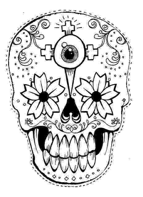 day of the dead template tiki mask template clipartsco dead of day the template