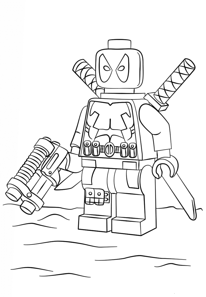deadpool free deadpool coloring pages for boys coloring pages free deadpool